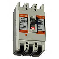 Автоматический выключатель ElectrO ВА77-1-63 3 полюси 063А 10In (8-12In)  Icu 25кА  Ics 18кА  400В