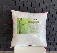 Бамбуковая подушка ОДА   Гипоаллергенная мягкая подушка 70х70   Подушка для сна