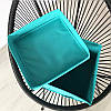 Ящик с крышкой 30*30*30 см ORGANIZE (лазурь), фото 2