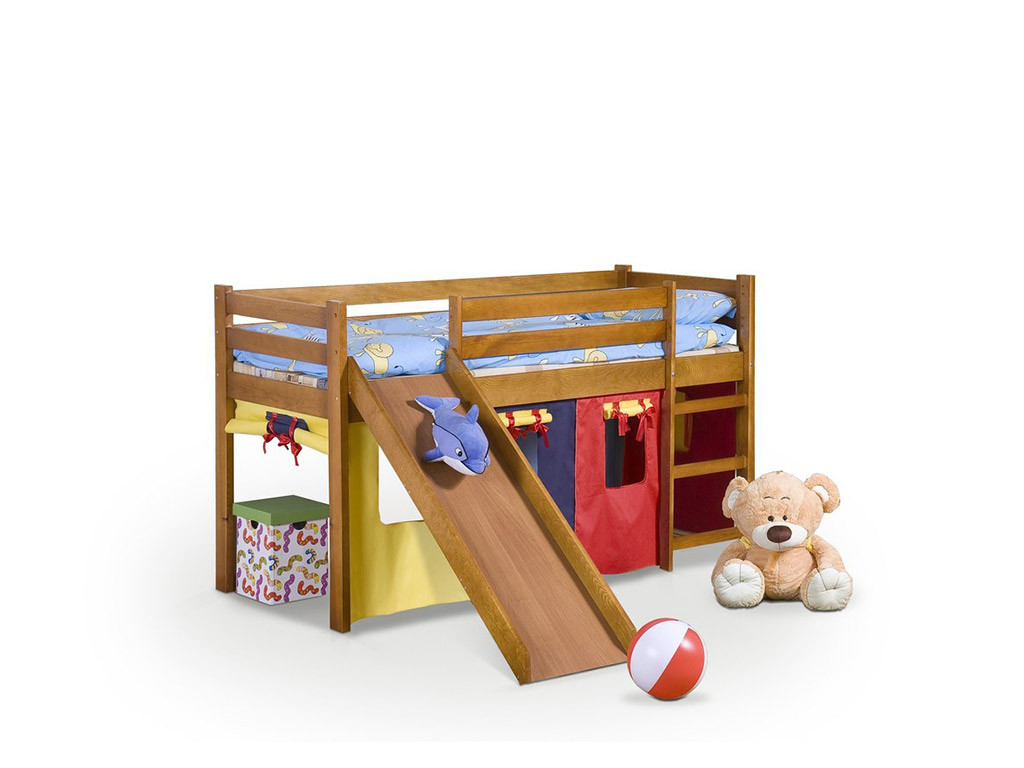 Кровать с горкой Neo Plus