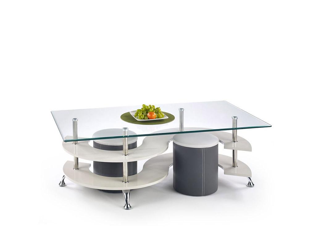 Журнальный столик с пуфиками Nina 5