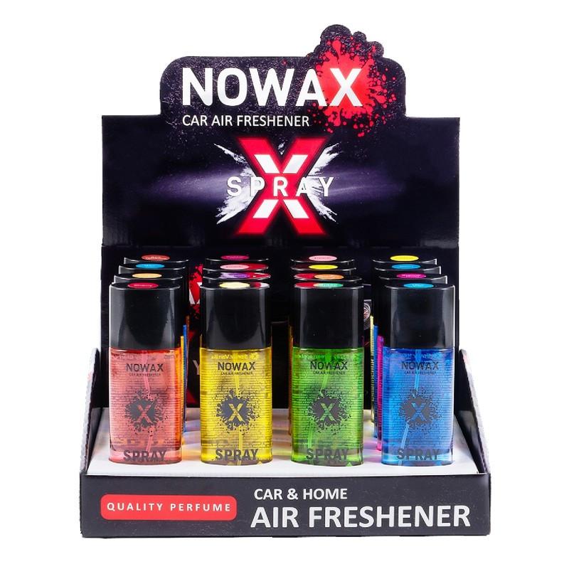 Набор ароматизаторов MIX №2 спрей 16 шт 50 мл Nowax X Spray (NX07772)