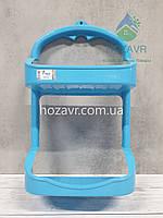Полка навесная в ванную комнату Zambak Plastik, голубая