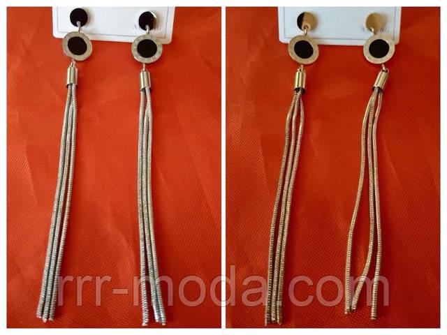 Ювелирная бижутерия оптом, позолоченные серьги украшения оптом, фото.