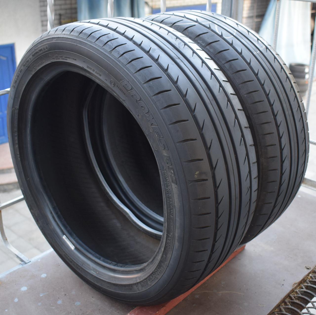 Летние шины б/у 205/50 R17 Toyo Proxes R32, 6 мм, пара