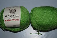Gazzal Baby Wool - 821 салатовый