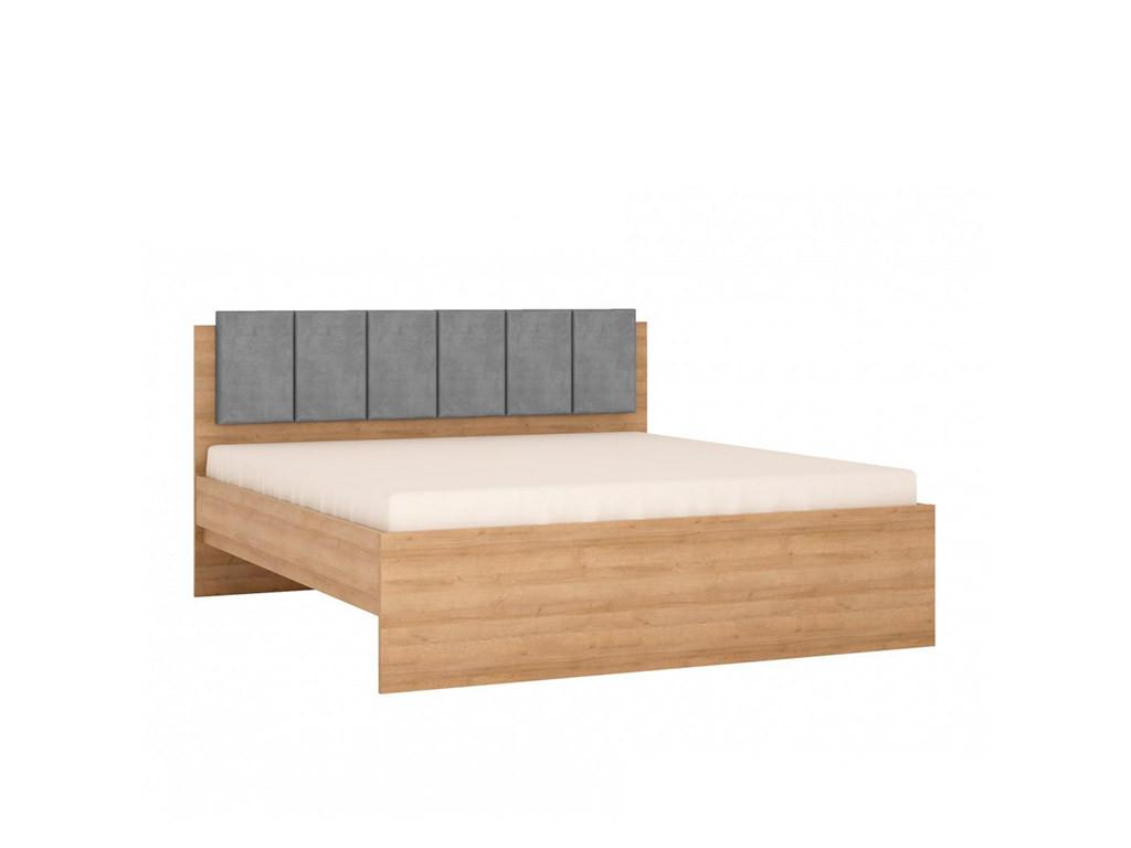 Кровать 180 Lyon jasny LYOZ05