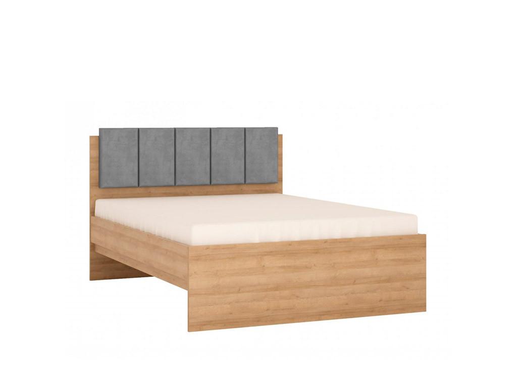 Кровать 140 Lyon jasny LYOZ01
