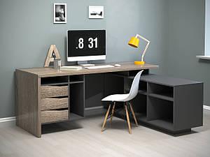 """Комп'ютерний стіл """"Connect 1"""" від Intarsio"""
