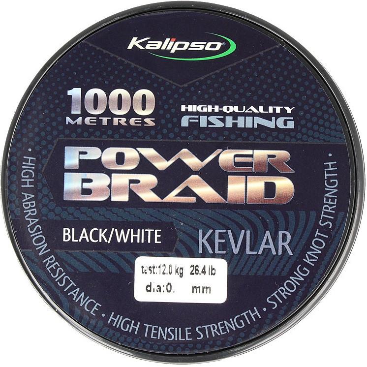 Шнур Kalipso Power Braid Kevlar 1000м 0.35мм 31.5 кг