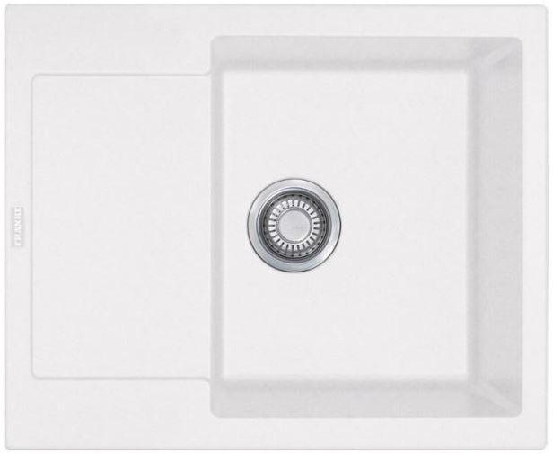 Кухонные мойки Franke Кухонная мойка Franke Maris MRG 611-62, 114.0381.002, белая