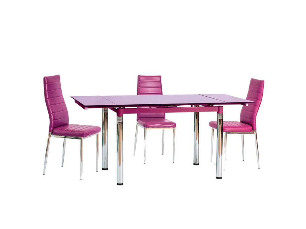 Стол стеклянный GD-018