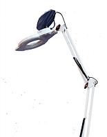 Светодиодная ( LED ) лампа-лупа на кронштейне с регулировкой света