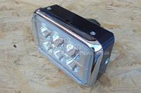 Фара квадратная LED ( 6 светодиодов )  18W  испепеляющий свет !!!