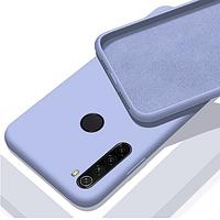 Чехол Silicone Case Full для Xiaomi Redmi Note 8T Violet фиалковый (ксиоми редми нот 8т)
