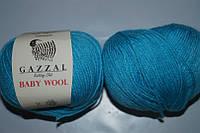 Gazzal Baby Wool - 820 бирюза