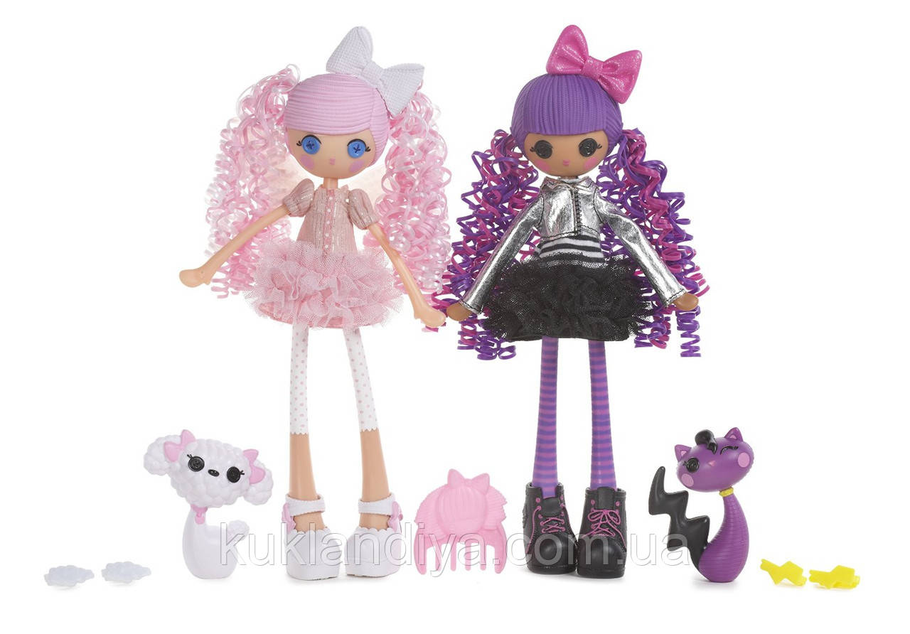 Набор кукол Lalaloopsy Girls Cloud E. Sky и Storm E. Sky