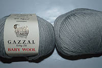 Gazzal Baby Wool - 817 светло серый
