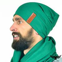 Шапка зеленая, фото 1