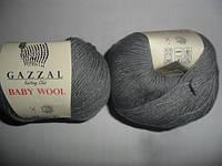 Gazzal Baby Wool - 818 темно серый