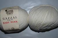 Gazzal Baby Wool - 801 белый