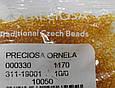 Бисер Preciosa 10/0 цвет 10050 золотой 5г, фото 2