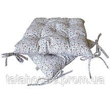 """Подушка на стул """"Ретро"""" в мелкий цветочек, 40х40 см"""