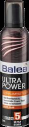 Пенка  Природный блеск для волос c ультра сильной фиксацией Balea  Ultra Power Schaumfestiger  250 мл.