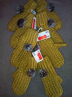 C&A Утепленные флисом теплющие варежки от от C&A Германия размер от 134 до 164рост, фото 1