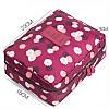 Сумка органайзер для косметики - Красный, фото 5