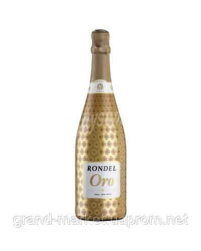 Вино напівсухе ігристе Cava Rondel Oro Semi Seco, 075ml