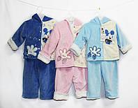 Костюм детский теплый велюровый для мальчика и девочки. Ari 387, фото 1