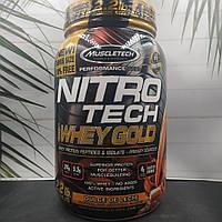 MuscleTech Nitrotech Whey Gold 999g , сывороточный протеин