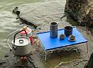 Столик туристичний складаний 350х250мм NatureHike NH17Z001-L Синій., фото 8
