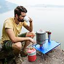 Столик туристичний складаний 350х250мм NatureHike NH17Z001-L Синій., фото 2