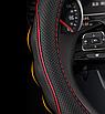 Чехол оплетка Cool на руль для автомобиля Nissan натуральная кожа, фото 3