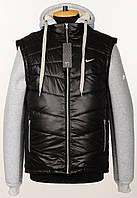 """Стеганный,разборной зимний жилет""""Nike""""на меху.Новинка!!!"""