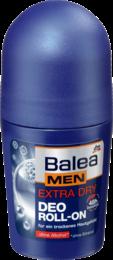 Дезодорант шариковый Экстра сухость  Balea men Deo-roll on Еxtra Dry 50 мл