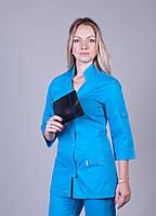 "Медицинский костюм женский ""Health Life"" коттон 3206"