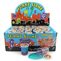 Лизун сопли Банка средняя перламутровая Funny slime