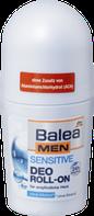 Дезодорант шариковый Нежное прикосновение  для чувствительной кожи  Balea men Deo-roll on Sensitive 50 мл