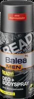 Дезодорант для тела Я готов с экстрактом хлопка  Balea men Ready 200 мл