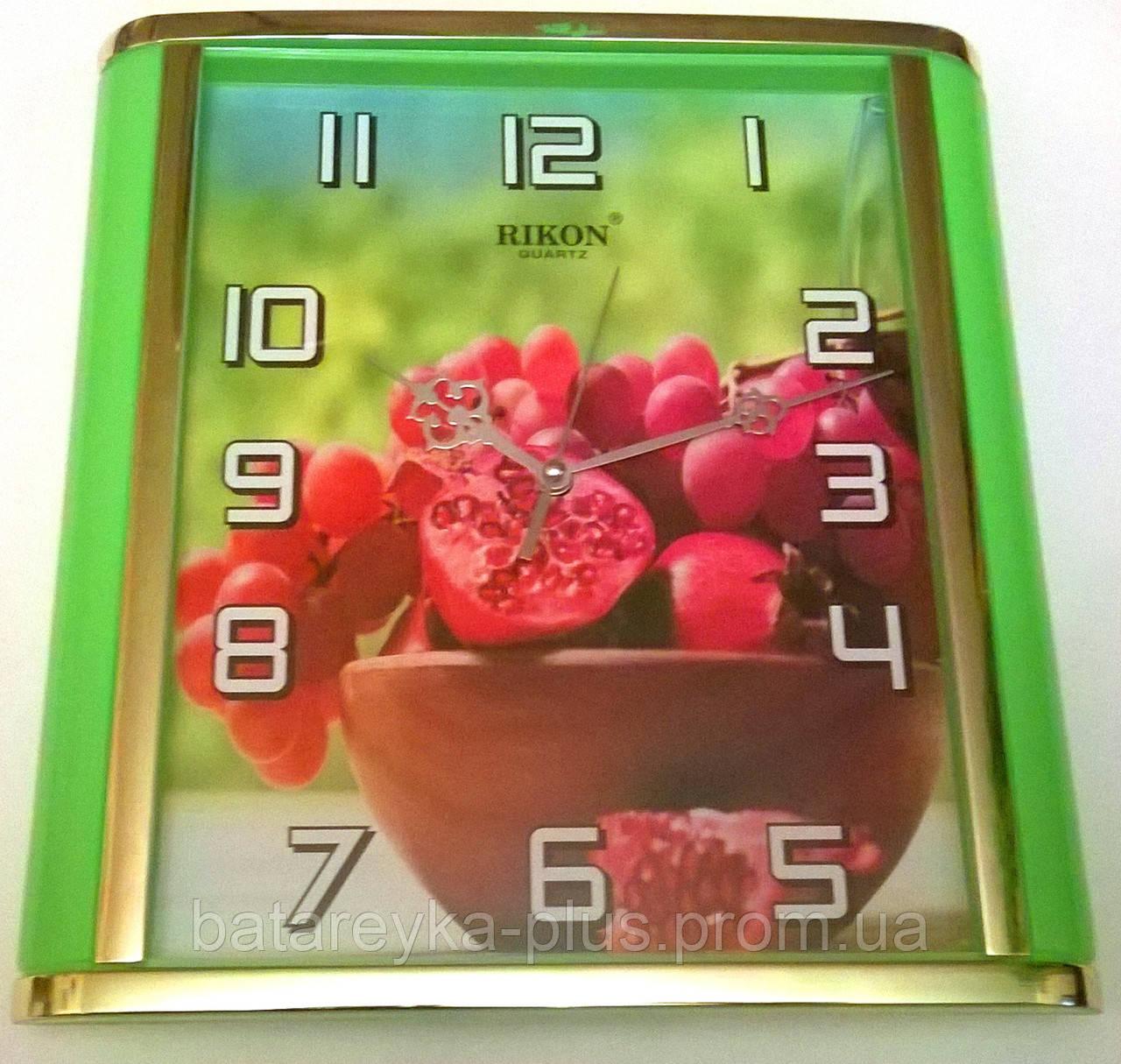 Часы кухонные настенные   RIKON  561 - Батарейка Плюс в Ужгороде