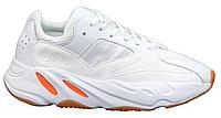 """Женские Кроссовки Adidas Yeezy 700 """"White Orange"""" - """"Белые Оранжевые Рефлективные"""", фото 1"""