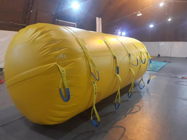 """Понтоны """"Гидробака"""" участвуют в поднятии затонувшего танкераDelfi!"""