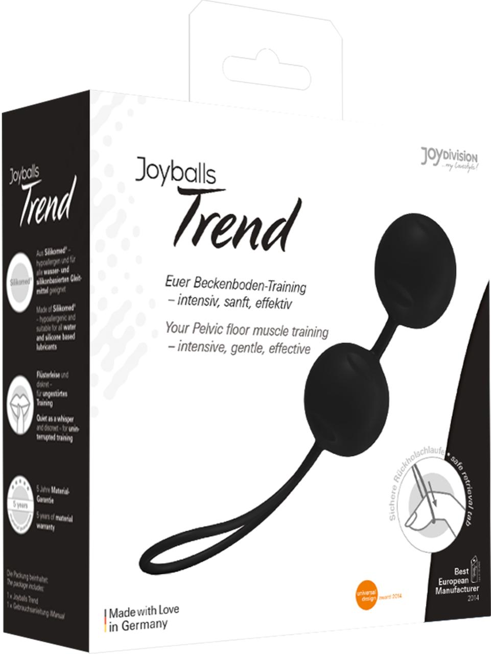 Вагінальні кульки - Joyballs Trend, black