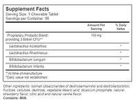 Vitacost Probiotic Tabs for Kids Cherry – 3 billion CFU** - 30 Chewable Tablets, фото 2