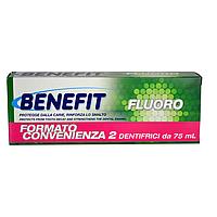 Зубная паста с фтором Benefit Dentifricio Fluoro, 2 шт*75 мл