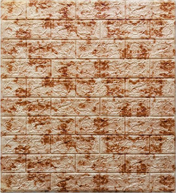 Самоклеюча 3D панель під цегла, мармур, декоративні 3Д панелі для стін
