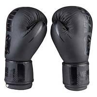 Бокс перчатки Venum TrainingCamp, матовая кожа, черные